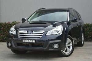 2013 Subaru Outback B5A MY13 2.0D Lineartronic AWD Premium Blue 7 Speed Constant Variable Wagon South Maitland Maitland Area Preview