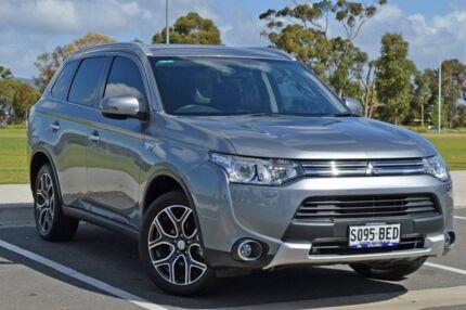 2014 Mitsubishi Outlander ZJ MY14.5 PHEV AWD Aspire Grey 1 Speed Automatic Wagon Hybrid