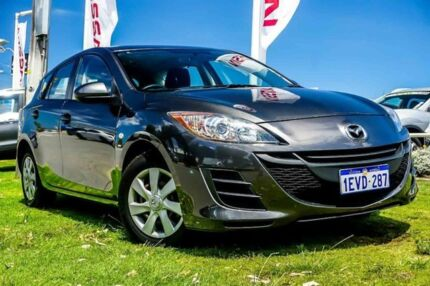 2011 Mazda 3 BL10F1 MY10 Neo Activematic Grey 5 Speed Sports Automatic Hatchback Osborne Park Stirling Area Preview