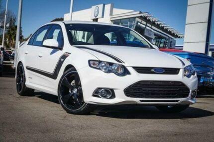 2013 Ford Falcon FG MkII XR6 Turbo Winter White 6 Speed Sports Automatic Sedan Parramatta Parramatta Area Preview