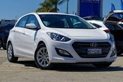 2015 Hyundai i30 GD3 Series II MY16 Active White 6 Speed Sports Automatic Hatchback Greenfields Mandurah Area Preview