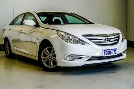2012 Hyundai i45 YF MY11 Active White 6 Speed Sports Automatic Sedan Wangara Wanneroo Area Preview