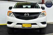 2012 Mazda BT-50 UP0YF1 XT 4x2 Hi-Rider White 6 Speed Manual Cab Chassis Canning Vale Canning Area Preview