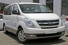 2014 Hyundai iMAX TQ-W MY13 Creamy White 5 Speed Automatic Wagon Mount Gravatt Brisbane South East Preview