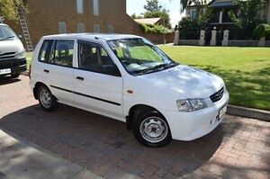 2000 Mazda 121 DW1031 Shades Metro White 3 Speed Automatic Hatchback Stepney Norwood Area Preview