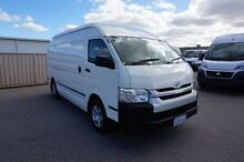 2015 Toyota Hiace KDH221R High Roof Super LWB White 4 Speed Automatic Van Pearsall Wanneroo Area Preview