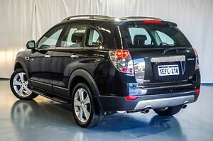 2013 Holden Captiva CG Series II MY12 7 AWD LX Black 6 Speed Sports Automatic Wagon Wangara Wanneroo Area Preview