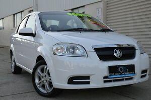 2010 Holden Barina TK MY11 White 4 Speed Automatic Sedan Ashmore Gold Coast City Preview