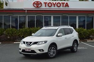 2016 Nissan X-Trail T32 TL X-tronic 2WD White 7 Speed Constant Variable Wagon Highland Park Gold Coast City Preview