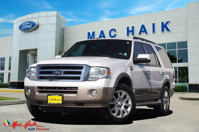 2012 Ford Expedition King Ranch 92978 Miles White Sport Utility Gas/Ethanol V8 5