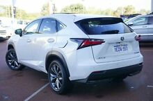 2014 Lexus NX AYZ15R White 6 Speed Constant Variable Wagon Wangara Wanneroo Area Preview