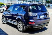 2009 Mitsubishi Outlander ZG MY09 VR-X Blue 6 Speed Sports Automatic Wagon Osborne Park Stirling Area Preview