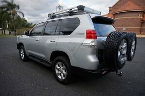 2012 Toyota Landcruiser Prado KDJ150R GXL Silver Pearl 5 Speed Sports Automatic Wagon Dalby Dalby Area Preview