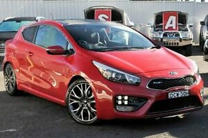 2014 Kia Pro_ceed JD MY15 GT-Tech Red 6 Speed Manual Hatchback Gosford Gosford Area Preview