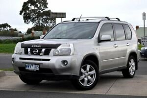 2009 Nissan X-Trail T31 ST-L Silver 1 Speed Constant Variable Wagon Brighton Bayside Area Preview