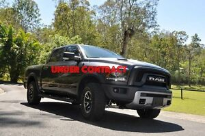 2016 RAM 1500 REBEL (4x4) Crew Cab Granite 6 Speed Automatic Morayfield Caboolture Area Preview