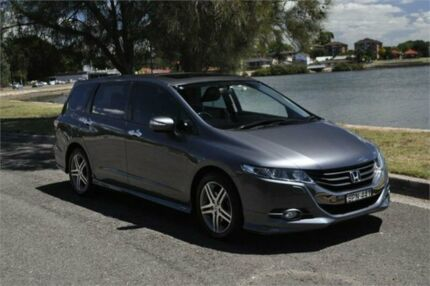 2010 Honda Odyssey RB Luxury Silver 5 Speed Automatic Wagon Five Dock Canada Bay Area Preview
