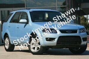 2010 Ford Territory SY MkII TX (RWD) Silver 4 Speed Auto Seq Sportshift Wagon Wangara Wanneroo Area Preview