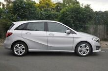2015 Mercedes-Benz B200  Silver Sports Automatic Dual Clutch Hatchback Doncaster Manningham Area Preview