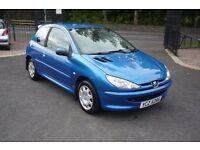 PEUGEOT 206 1.1 STYLE 3d 60 BHP (blue) 2004