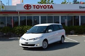 2013 Toyota Tarago White Constant Variable Wagon Highland Park Gold Coast City Preview