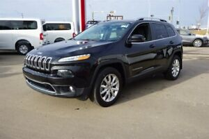 2016 Jeep Cherokee 4X4 LIMITED 3.2L V6 Accident Free,  Navigatio