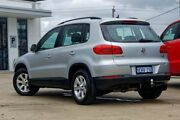 2013 Volkswagen Tiguan 5N MY13.5 132TSI DSG 4MOTION Pacific Silver 7 Speed Mandurah Mandurah Area Preview