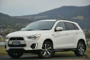 2014 Mitsubishi ASX XB MY15 LS 2WD White 6 Speed Constant Variable Wagon Derwent Park Glenorchy Area Preview