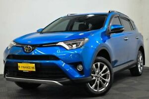 2016 Toyota RAV4 ASA44R Cruiser AWD Blue 6 Speed Sports Automatic Wagon