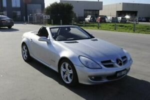 2004 Mercedes-Benz SLK200 202 Kompressor Silver 5 Speed Automatic Convertible