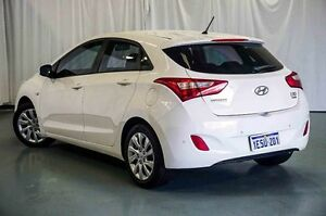2013 Hyundai i30 GD2 Active White 6 Speed Sports Automatic Hatchback Wangara Wanneroo Area Preview