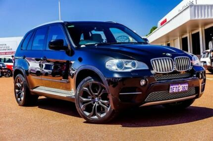 2011 BMW X5 E70 MY11.5 xDrive40d Steptronic Sport Black 8 Speed Sports Automatic Wagon Balcatta Stirling Area Preview