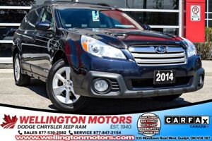 2014 Subaru Outback 2.5i Limited | AWD | LEATHER | BACK-UP CAM !
