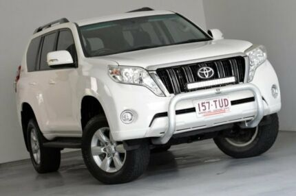 2014 Toyota Landcruiser Prado KDJ150R MY14 GXL White 5 Speed Sports Automatic Wagon Indooroopilly Brisbane South West Preview