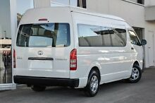 2013 Toyota Hiace KDH223R MY12 Commuter High Roof Super LWB White 4 Speed Automatic Bus Southport Gold Coast City Preview
