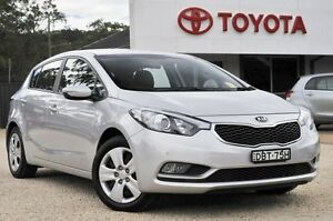 2015 Kia Cerato YD MY16 S Silver 6 Speed Automatic Hatchback Watanobbi Wyong Area Preview