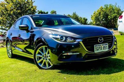 2018 Mazda 3 BN5238 SP25 SKYACTIV-Drive Grey 6 Speed Sports Automatic Sedan Wangara Wanneroo Area Preview
