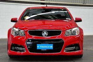 2013 Holden Ute VF MY14 SS V Ute Redline Red 6 Speed Manual Utility