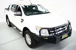 2014 Ford Ranger PX XLT Double Cab White 6 Speed Sports Automatic Utility Maryville Newcastle Area Preview