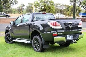 2015 Mazda BT-50 UP0YF1 GT Black 6 Speed Sports Automatic Utility Wangara Wanneroo Area Preview