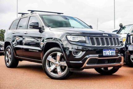 2014 Jeep Grand Cherokee WK MY15 Overland Black 8 Speed Sports Automatic Wagon