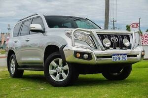 2014 Toyota Landcruiser Prado KDJ150R MY14 GXL Silver 5 Speed Sports Automatic Wagon Wangara Wanneroo Area Preview