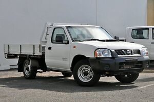 2012 Nissan Navara D22 S5 DX White 5 Speed Manual Cab Chassis Tweed Heads South Tweed Heads Area Preview