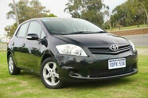 2011 Toyota Corolla ZRE152R MY11 Conquest Black 4 Speed Automatic Hatchback Wangara Wanneroo Area Preview