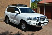 2016 Toyota Landcruiser VDJ200R GXL White 6 Speed Sports Automatic Wagon Norwood Norwood Area Preview