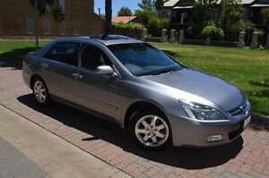 2004 Honda Accord V6 Luxury Silver 5 Speed Automatic Sedan Stepney Norwood Area Preview