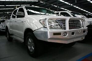 2010 Toyota Hilux KUN26R MY10 SR5 White 5 Speed Manual Utility Maryville Newcastle Area Preview