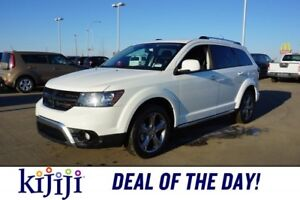 2017 Dodge Journey AWD CROSSROAD 7 PASS Accident Free,  Leather,