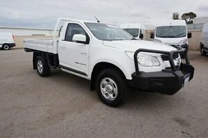 2012 Holden Colorado RG MY13 LX White 5 Speed Manual Cab Chassis Pearsall Wanneroo Area Preview