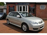 TOYOTA COROLLA 1.4 T3 COLOUR COLLECTION VVT-I 5d 92 BHP (silver) 2005